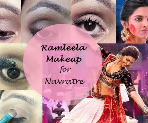Tutorial: How To Deepika Padukone Ram Leela Makeup Look for Navratri