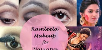 how to apply deepika ram leela eye makeup tutorial and products used