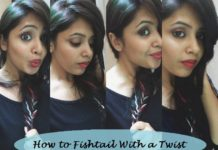 how to fishtail braid on yourself step by step tutorial