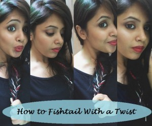Tutorial: How To Boho Fishtail Braided Hairstyle with Colours