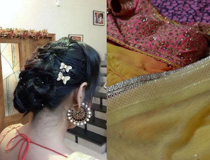 indian festive hair do accessories ideas