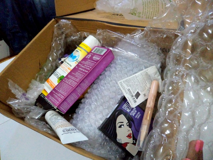 jabong makeup kit online haul