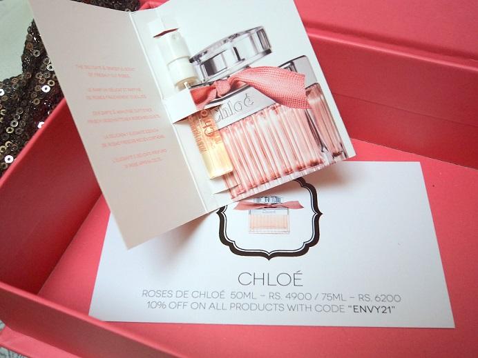my envy box chloe roses de chloe perfume review