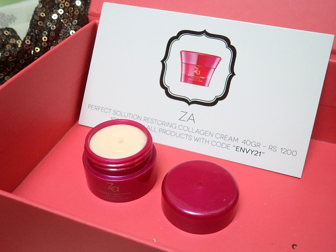 my envy box za perfect solution restoring collagen cream review