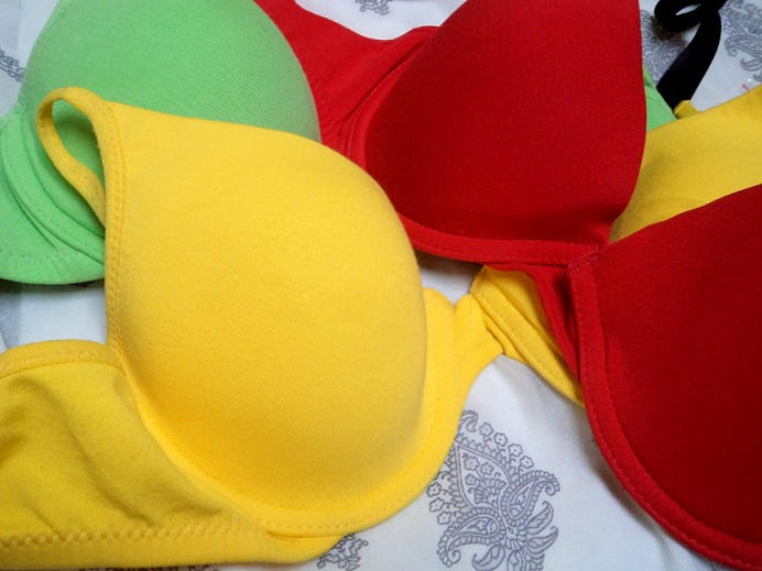 neon colourful bras online in india