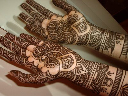 Best Arabic Mehndi Designs bridal for hands 8