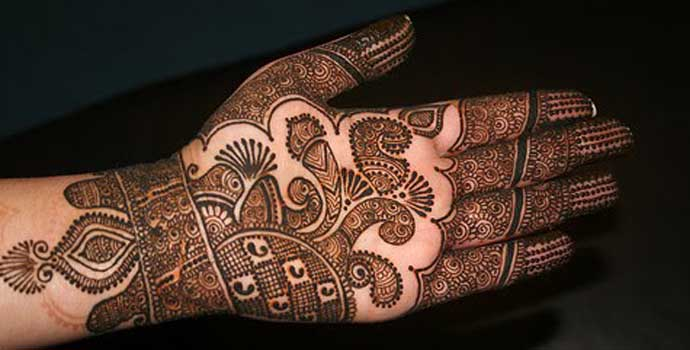 Best Arabic Mehndi Designs for hands 1