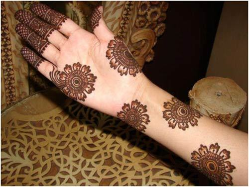 Best Arabic Mehndi Designs for full hands and feet 14