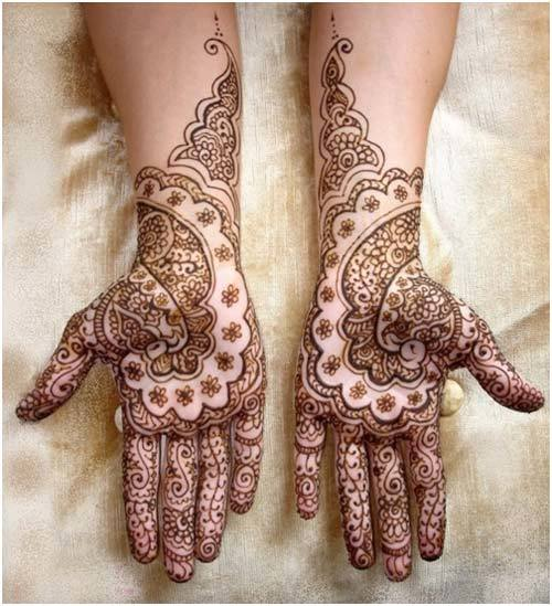 Best Arabic Mehndi Designs for hands bridal 19