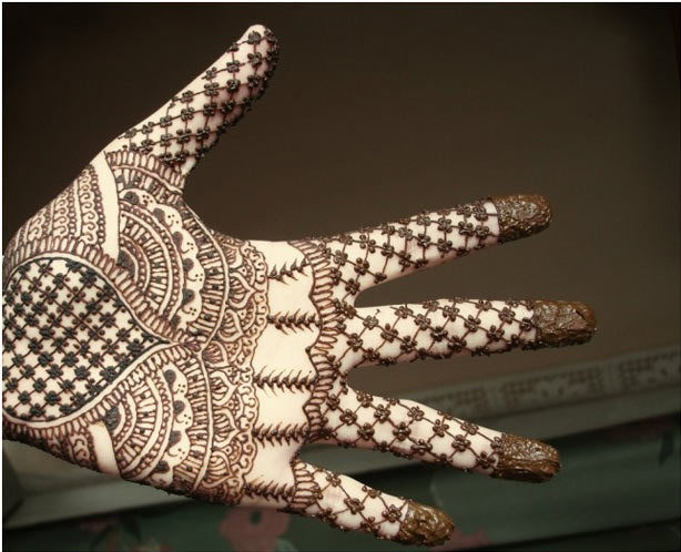 Best Arabic Mehndi Designs indian 12