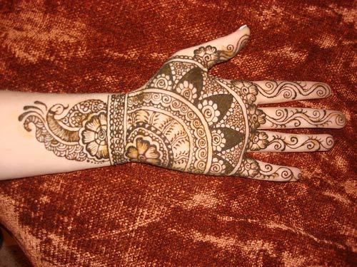 Best Arabic Mehndi Designs indian 18