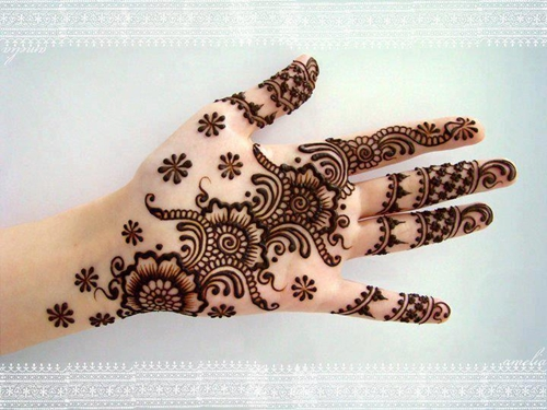Best Arabic Mehndi Designs short 5