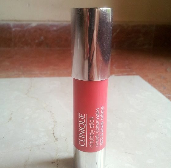 Clinique Chubby Stick Cheek Colour Balm Robust Rhubarb Review price