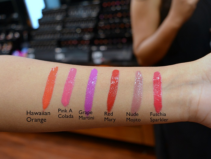 Faces Ultime Pro Lip Creme swatches shades