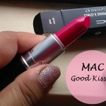MAC Good Kisser Lipstick A Novel Romance Collection: Review, Swatches and FOTD