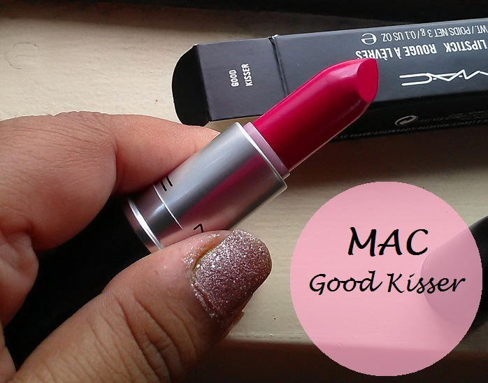 MAC Good Kisser Lipstick Review Swatches blog