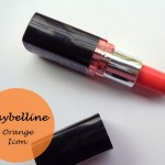 Maybelline ColorShow Lipstick Orange Icon: Review and Swatches