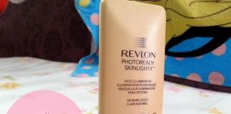 Revlon PhotoReady Skinlights Face Illuminator Bare Light review swatches blog