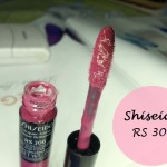 Shiseido Lacquer Gloss RS306: Review and Swatches