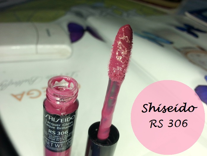 Shiseido Lacquer Gloss RS306 Review