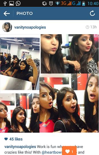 indian beauty bloggers selfie