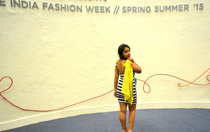 indian fashion blogger at wills lifestyle india fashion week spring summer