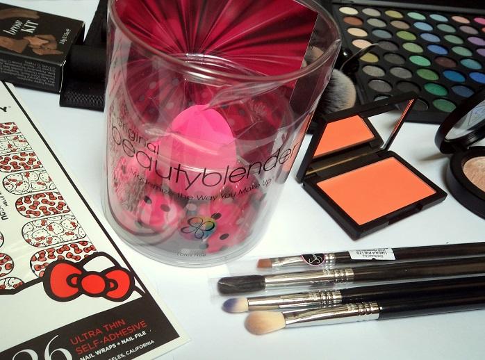 luxola beauty blender shopping