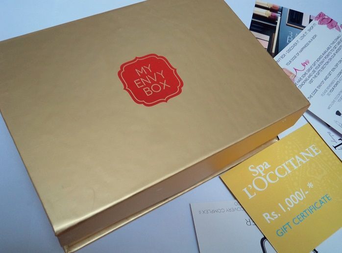 my envy box october 2014 review