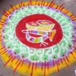14 Best Rangoli Designs For Diwali: Peacocks, Ganesh, Flowers, Social Message