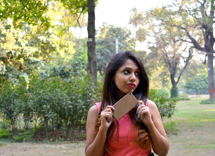 sony xperia z3 fashion blogger india