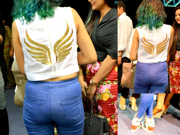 street style spotting at wills lifestyle india fashion week