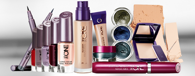 the ONE oriflame collection products price shades
