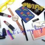 What's in my Bag: Wills Lifestyle India Fashion Week Edition!