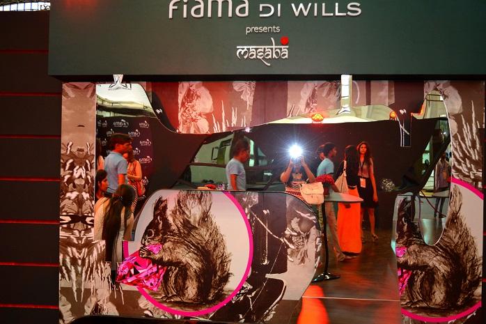 wills lifestyle india fashion week fiama di wills lounge masaba