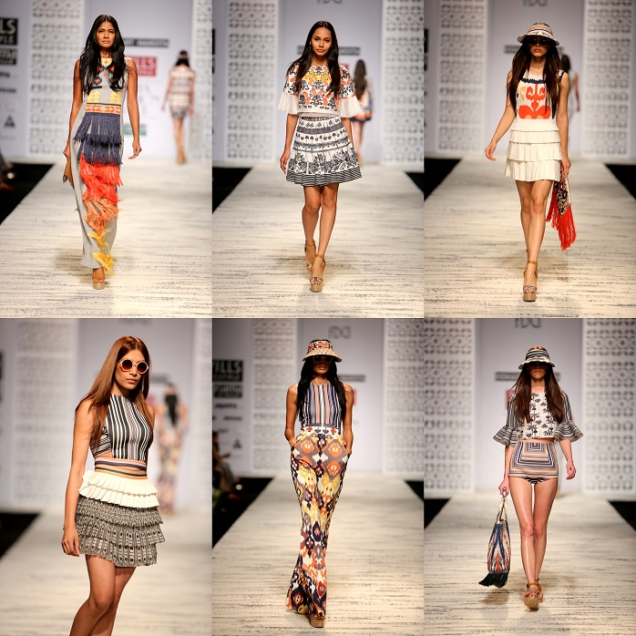 wills lifestyle india fashion week spring summer 2015 hemant nandita show review day1