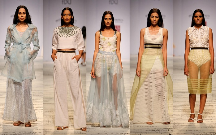 wills lifestyle india fashion week spring summer 2015 pallavi mohan show review day1