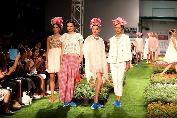 wills lifestyle india fashion week spring summer 2015 pero aneeth arora show review day1