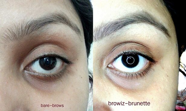 Anastasia Beverly Hills Brow Wiz Brunette review swatches before after