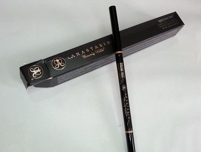 Anastasia Beverly Hills Brow Wiz Brunette review swatches india
