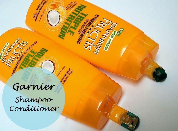 Garnier Fructis Triple Nutrition Shampoo Conditioner Review India