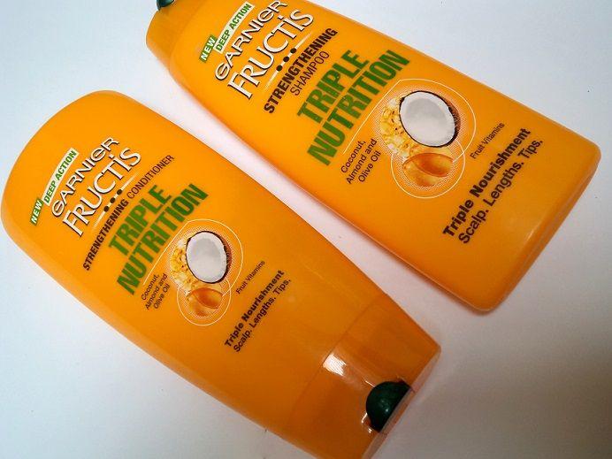 Garnier Fructis Triple Nutrition Shampoo Conditioner Review