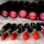6 L'Oreal Paris Infallible Le Rouge Lipsticks: Preview and Swatches