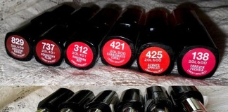 LOreal Infallible Le Rouge Lipsticks Reviews Swatches india