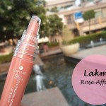 Lakme 9 to 5 Crease Less Lip Balm Rose Affair: Review and Swatches