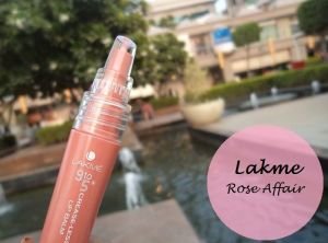 Lakme 9 to 5 Crease Less Lip Balm Rose Affair Review Swatches india