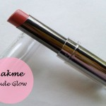 Lakme Absolute Gloss Addict Lipstick Nude Glow: Review and Swatches
