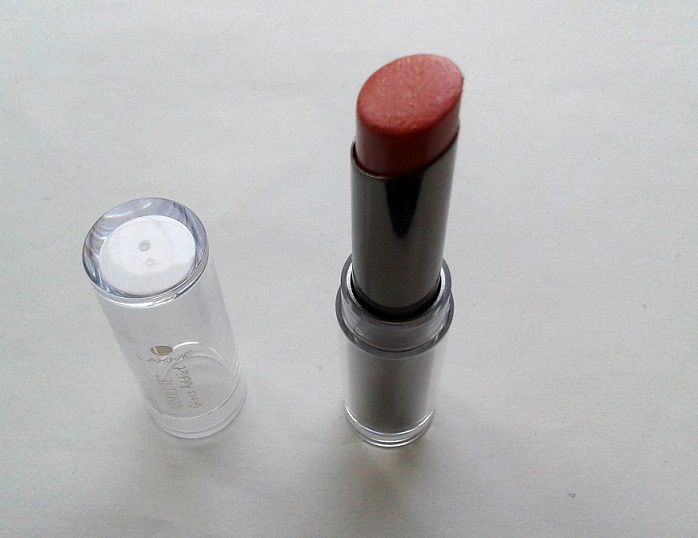 Lakme Absolute Gloss Addict Lipstick Nude Glow Review Swatches india