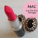 MAC La Vie En Rouge Matte Lipstick: Review and Swatches
