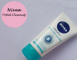Nivea Pure Effect Total Face Cleanup Review india