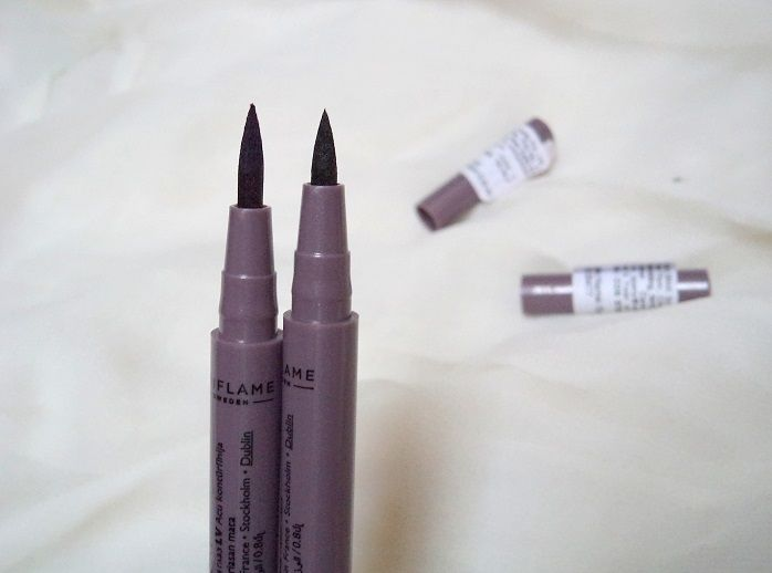 Oriflame The One Eyeliner Stylo Black and Blue Reviews